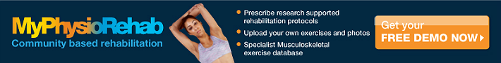 MyPhysioRehab - first class exercise prescription