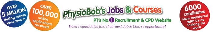 Find physio jobs in the United Kingdom and Australia